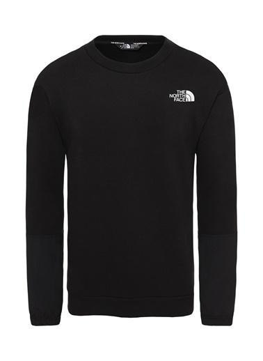 The North Face Graphic Ls Erkek Sweatshirt Siyah Siyah